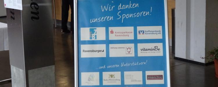 Sponsoren Ehrenamtmesse Ravensburg