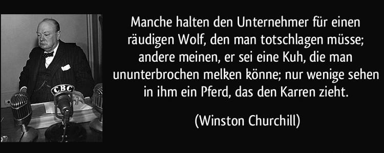 Churchill Zitat