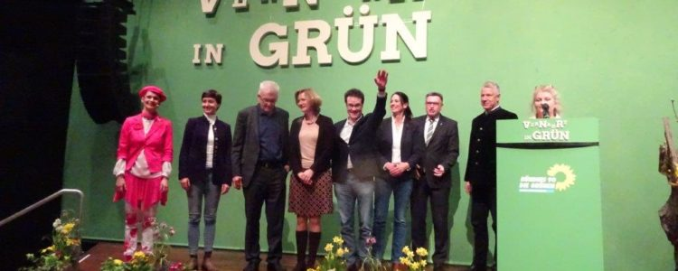 Grüne Gruppenbild