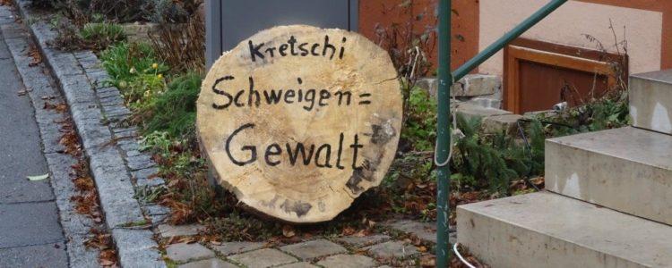 Baumscheibe für Kretschmann
