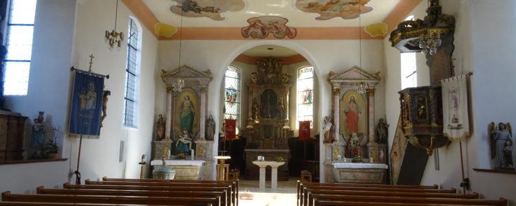 Chorraum der Kirche in Kappel