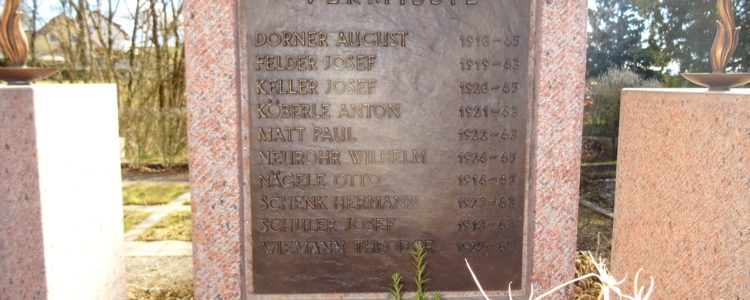 Kriegerdenkmal in Kappel