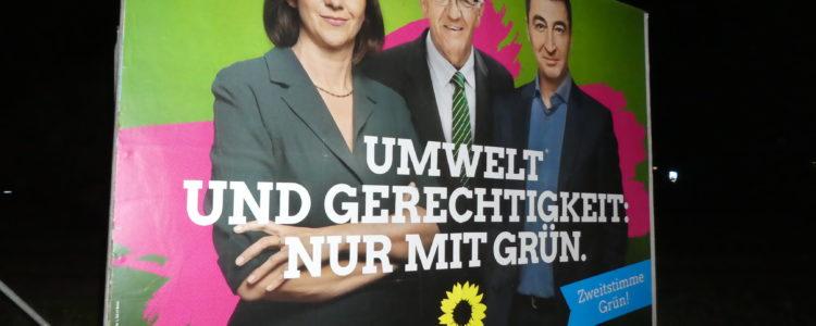 Kretschmann Wahlplakat