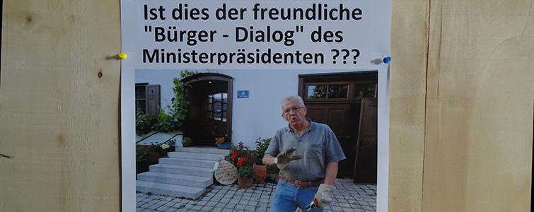 Kretschmanns freundlicher Bürgerdialog