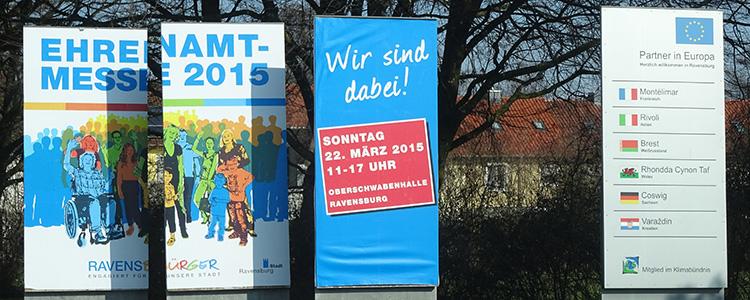 Außenwerbung Ehrenamtmesse Ravensburg