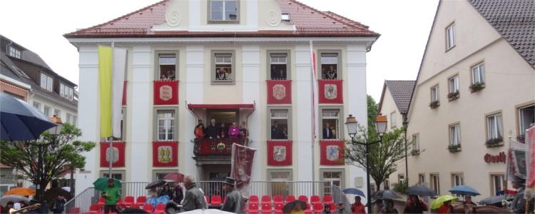 """Blutritt Weingarten - """"Balkon der Scheinheiligen"""""""