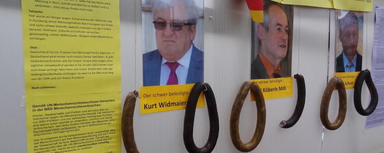 Kurt Widmaier - beleidigte Leberwurst