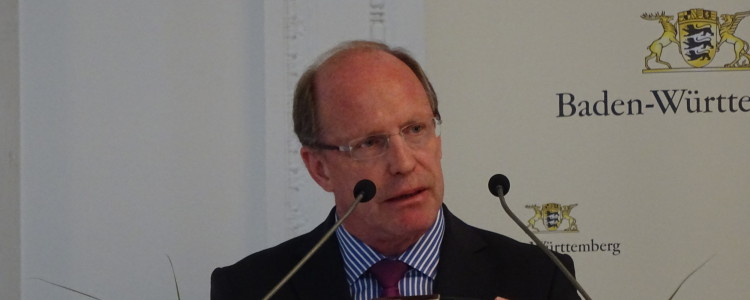 Winfried Klenk bei der Demokratikonfernz