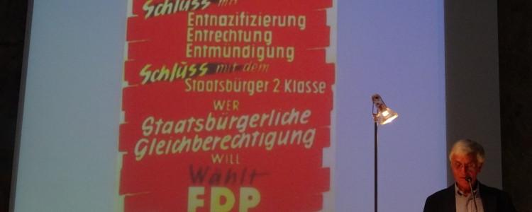 Wolf-Ulrich Strittmatter auf dem Podium
