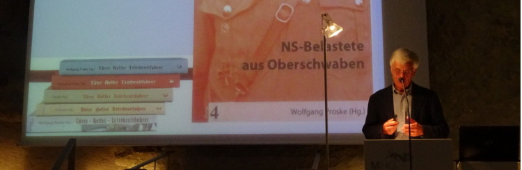 Wolf-Ulrich Strittmatter Podium - Täter Helfer Trittbrettfahrer