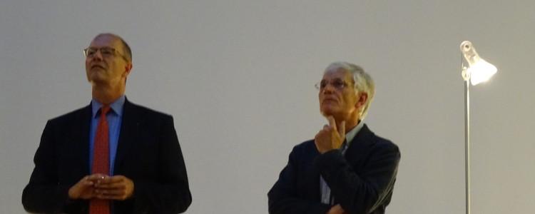 Matthias Grewe und Wolf-Ulrich Strittmatter auf dem Podium