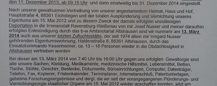 Lebensgeschichte Josef Nusser Teil 3