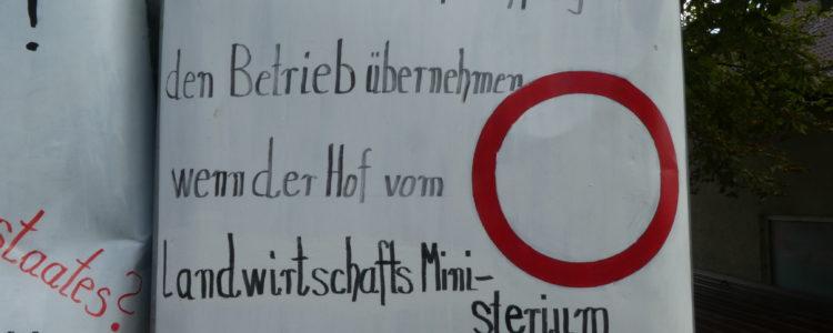 Klagemauer in Kappel - Hofnachfolger