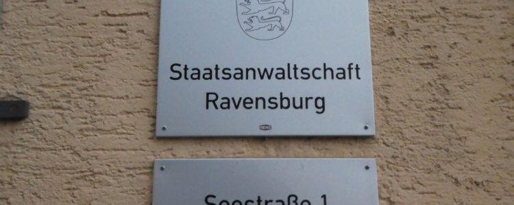 Staatsanwaltschaft Ravensburg