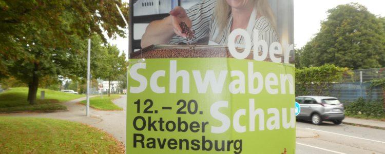 Oberschwabenschau 2019 - Werbung Pfosten