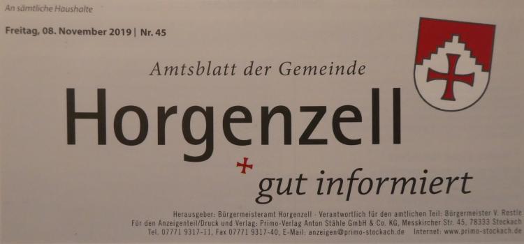 Gemeindeblatt Horgenzell